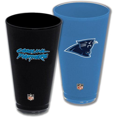 NFL 2pc Home and Away Tumbler Box Set, Carolina Panthers