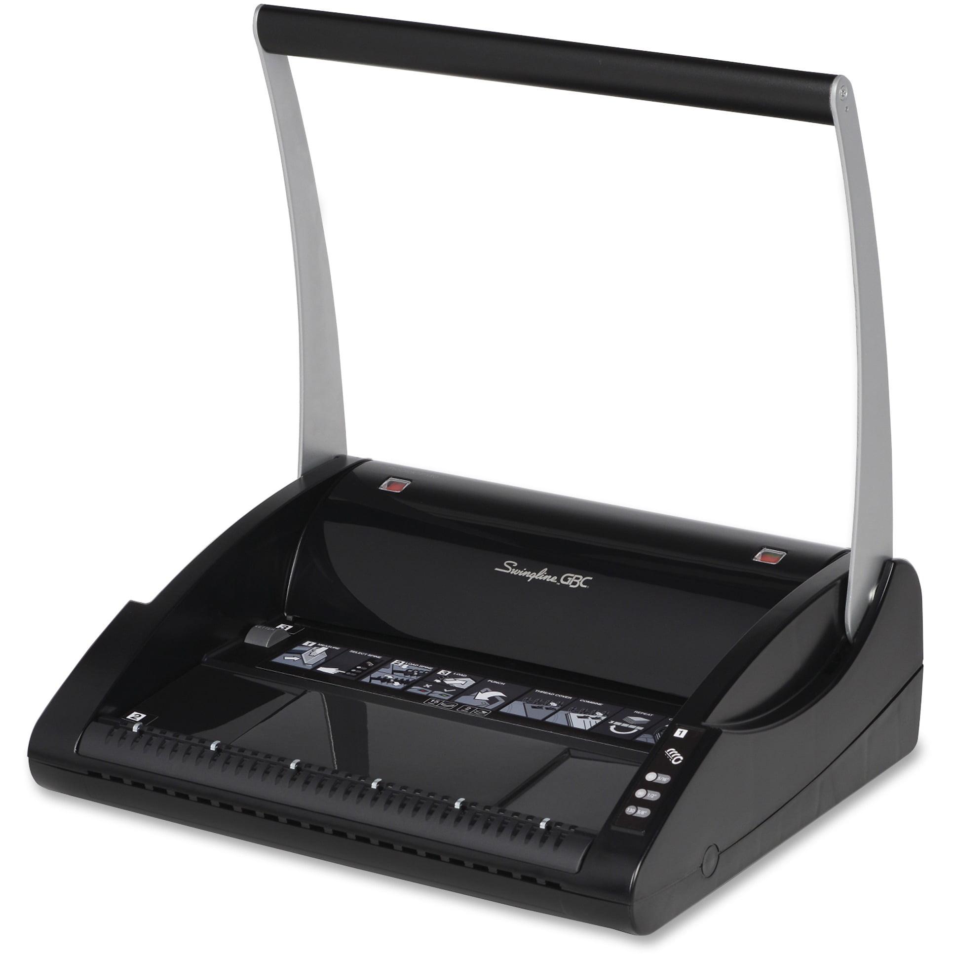 Swingline GBC, SWI7708185, ProClick Guide Right Manual Punch System, 1 Each, Gray
