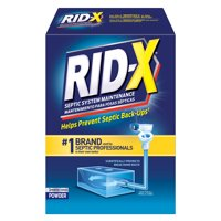 RID-X Septic Treatment Drain Opener, 3 Month Supply of Powder, 29.4oz