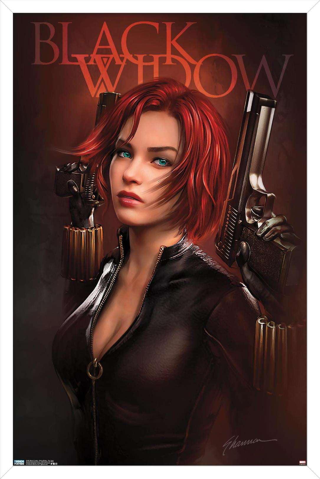 Marvel Comics - Black Widow - Two Guns Poster - Walmart.com - Walmart.com