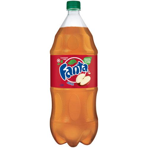 Fanta Apple Soda, 64 fl oz