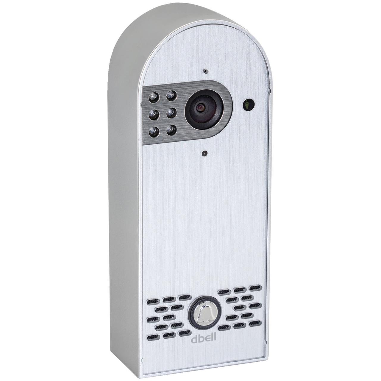 Dbell DB-HD-LIVE-S HD Live Video Doorbell (Silver) by DBELL