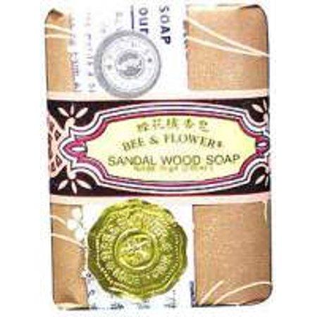 Bee & Flower Sandalwood Soap (Soap-Sandalwood Bee and Flower Soaps 2.65 oz. Bar)