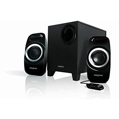 Creative Inspire T3300 51MF0415AA002 25 Watt 2.1 Speaker (Best Creative Speakers 2.1 Price)