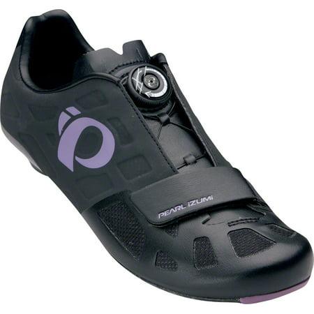 Pearl Izumi Women's Elite Road IV Cycling Shoe: Black/Purple