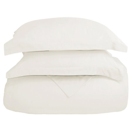 Luxury Double Brushed Microfiber Duvet Cover Set by Bare Home ()