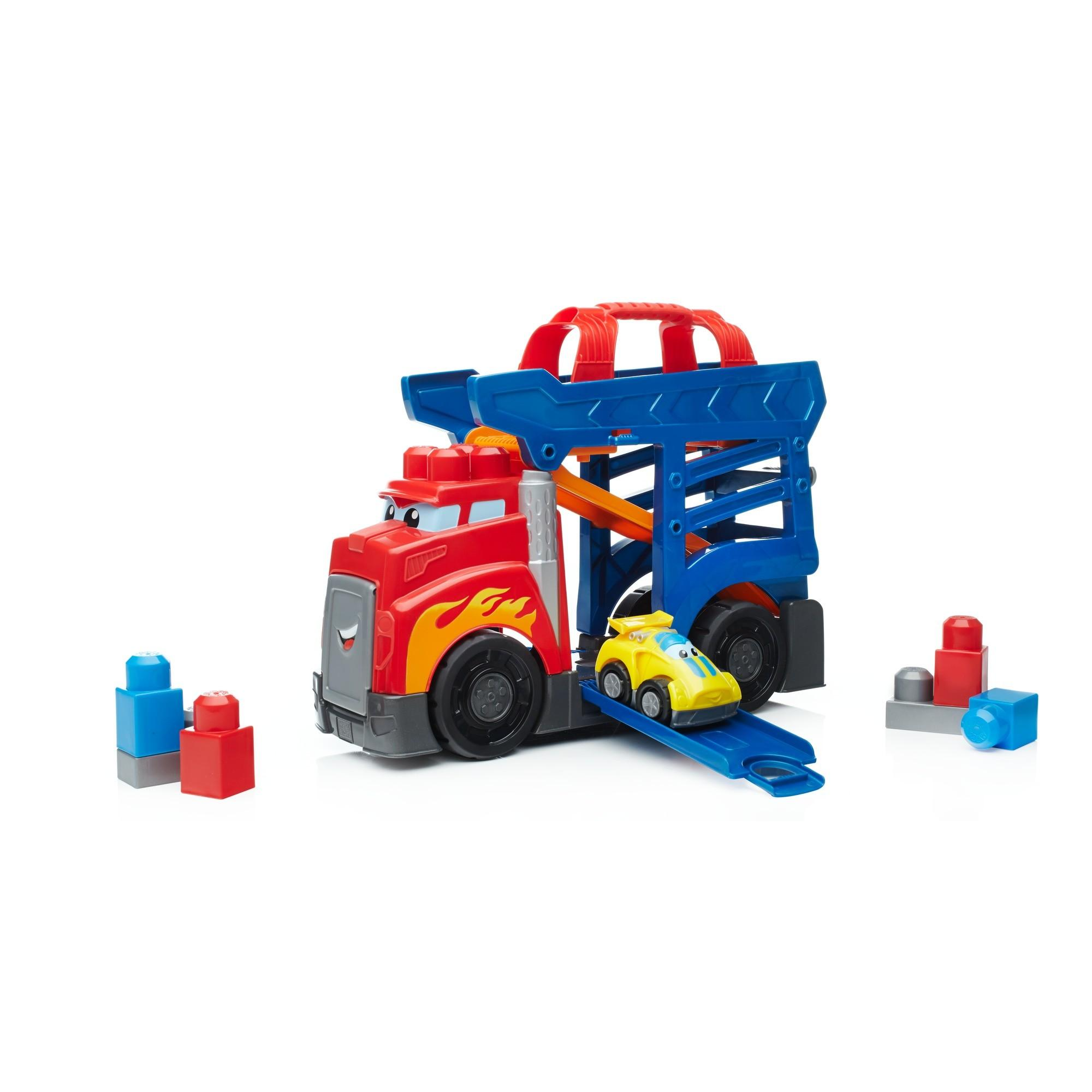 Mega Bloks First Builders Fast Tracks Racing Rig