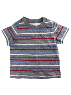 d11346323d49 Product Image First Impressions Baby Boys Short-Sleeve Multicolor Stripe T- Shirt