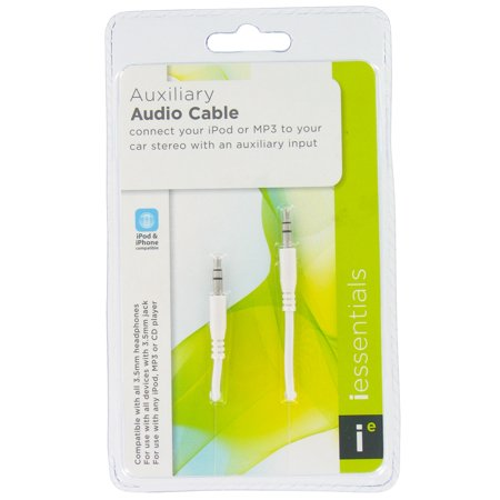 iEssentials IP-AUX Auxiliary Audio Cable