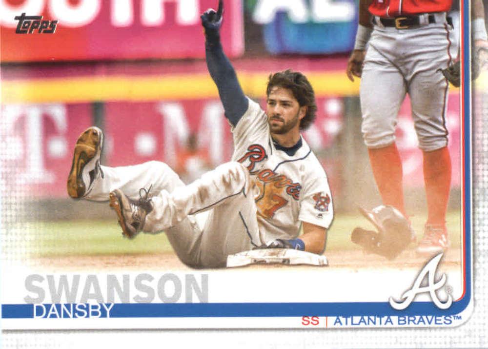 2019 Topps #191 Dansby Swanson Atlanta Braves Baseball Card -  *GOTBASEBALLCARDS - Walmart.com - Walmart.com