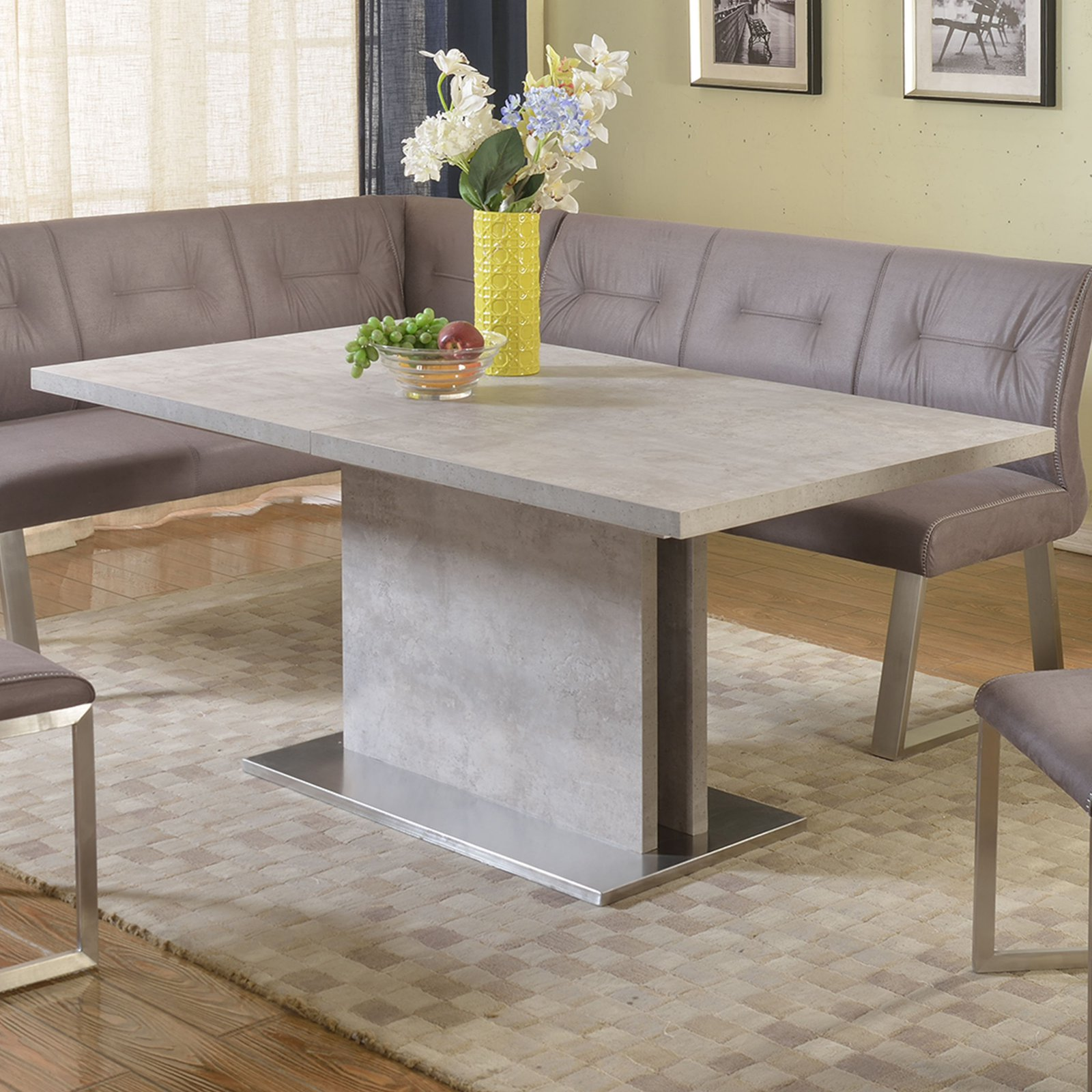 Chintaly Kalinda Butterfly Extension Dining Table