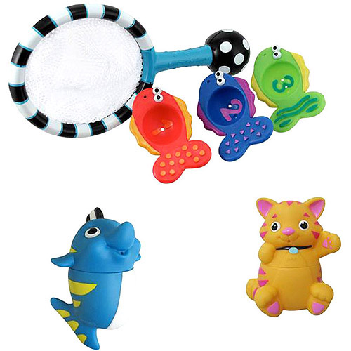 Sassy - Stay Clean Squirts and Count & Catch Bath Set