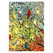 Toland Home Garden Tree Birds Flag