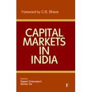 Capital Markets in India - eBook