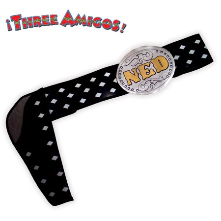 The Three Amigos Belt Ned Nederlander Costume Belt One Size (Ned Stark Costume)