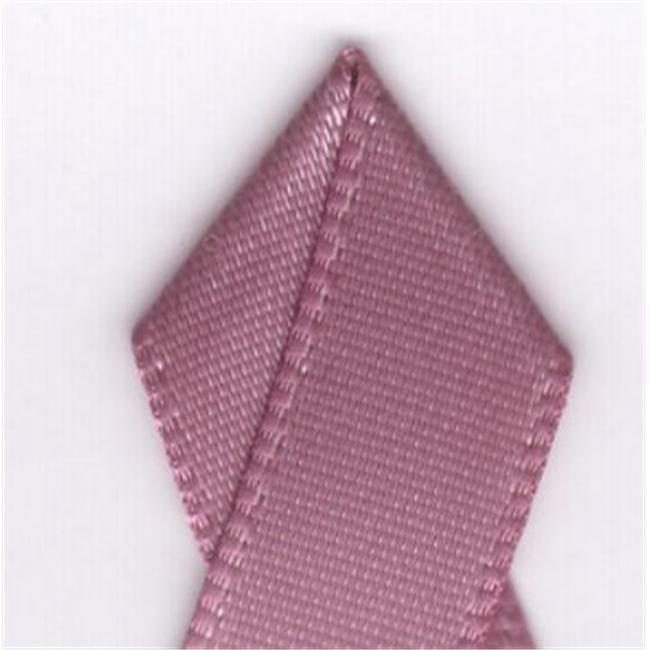 Papilion R07430216016520YD .63 in. Single-Face Satin Ribbon 20 Yards - Rosy Mauve - image 1 de 1