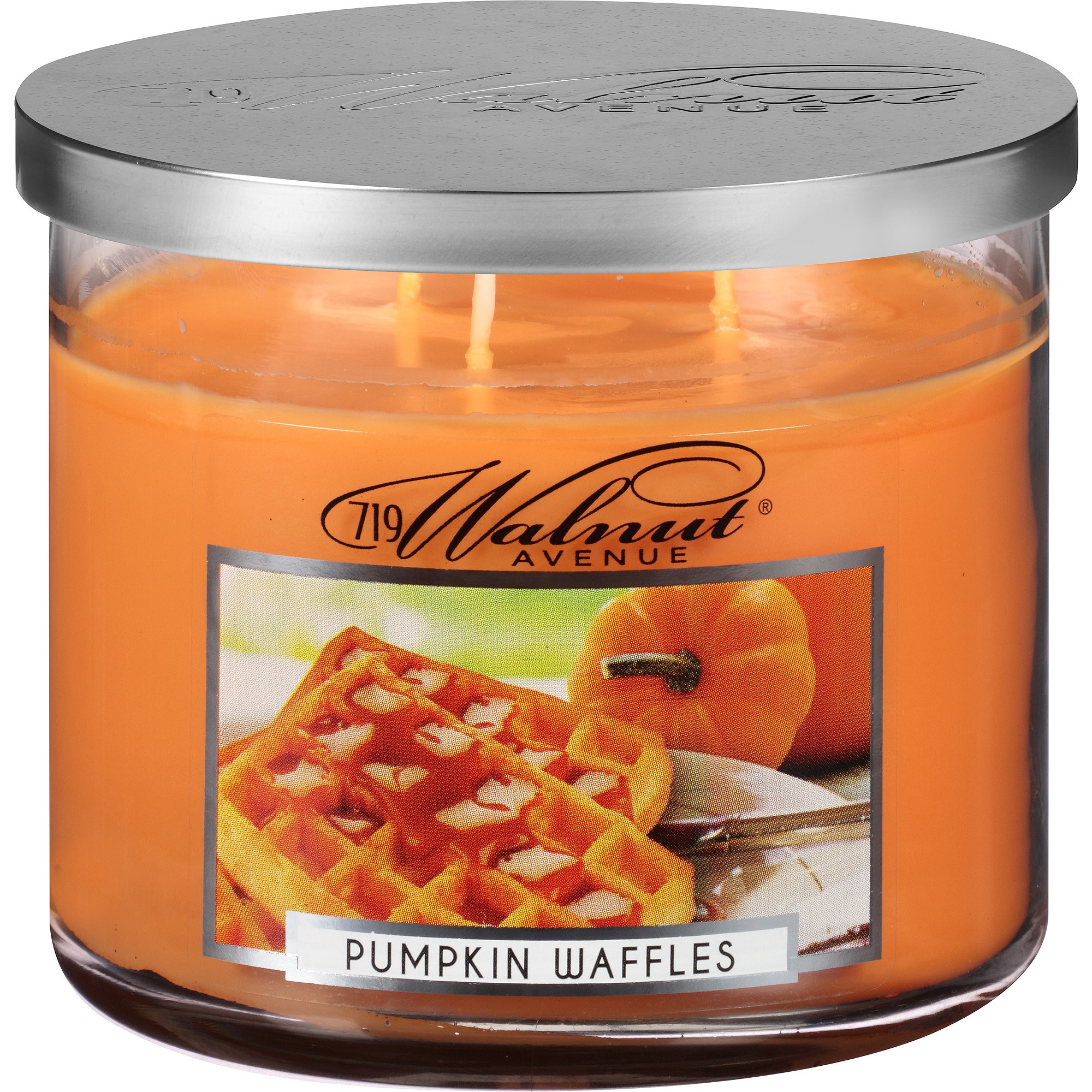 Click here to buy 719 Walnut Avenue Pumpkin Waffles Scented Candle, 14 Oz by 719 Walnut Avenue.