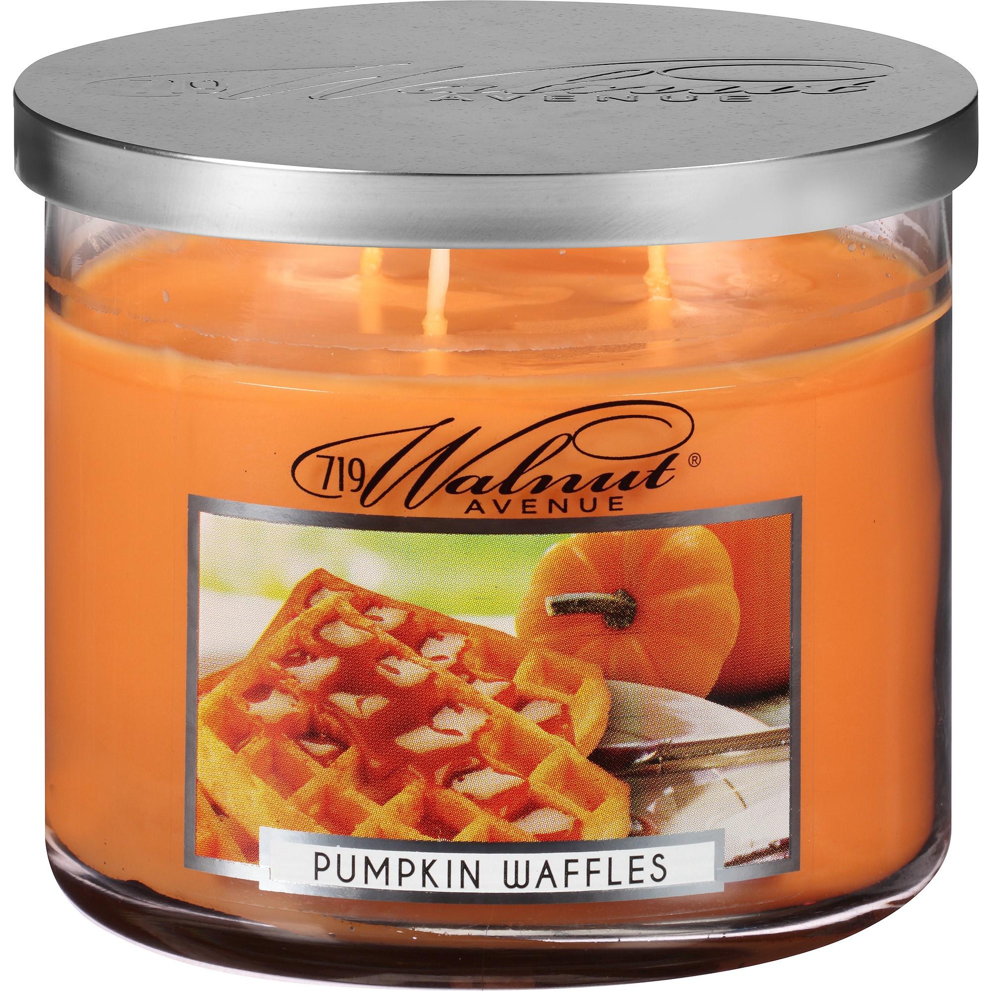 Image of 719 Walnut Avenue Pumpkin Waffles Scented Candle, 14 Oz