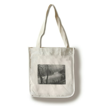 Ontario  Canada   View Of The Banks Of The Niagara River Below The Falls  100  Cotton Tote Bag   Reusable