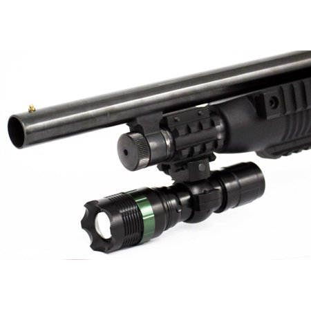 Trinity 800 Lumen Tactical Flashlight with Mount for 12 Gauge Remington