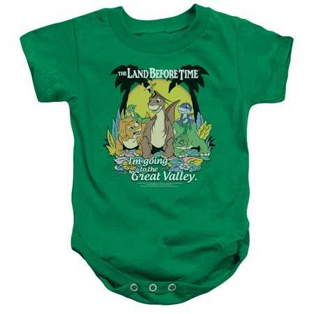 Land Before Time Great Valley Unisex Baby Snapsuit