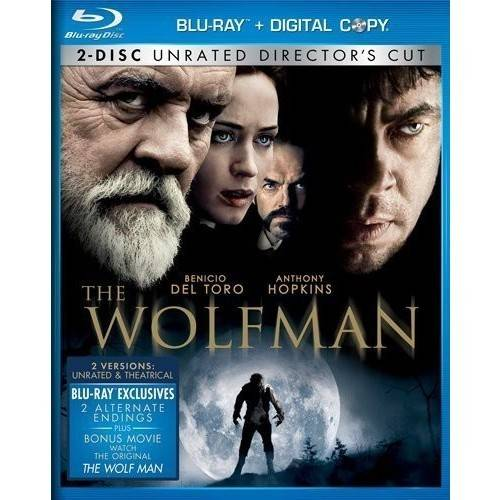 The Wolfman (Rated / Unrated Versions) (Blu-ray) (With INSTAWATCH) (Widescreen)