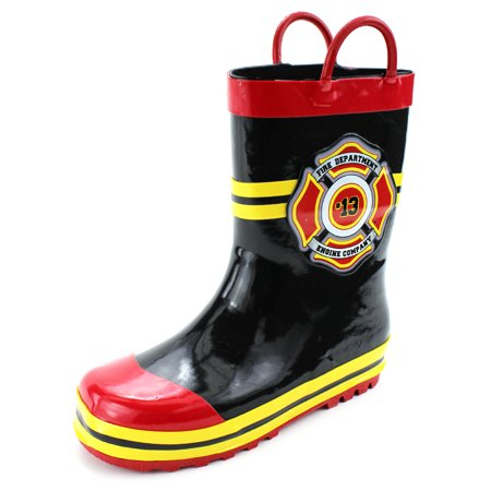Fireman Firefighter Boys Girls Costume Style Rain Boots RBS5400AGN