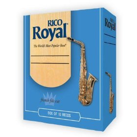 Rico Royal Alto Saxophone 10 Per Box #4 Strength by Rico Royal