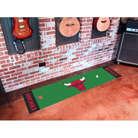 "NBA - Chicago Bulls Putting Green Runner 18""x72"" - image 2 de 2"