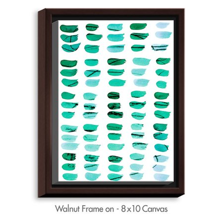 DiaNoche Designs 'Painted Dots' by Iris Lehnhardt Painting Print on Wrapped Framed Canvas