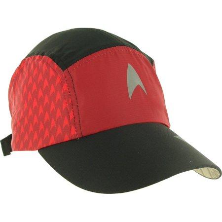 e3351d0ebfe Brainstorm Gear - Brainstorm Gear Star Trek Featherweight Running Hat (one  size fits most) - Red (Engineering) - Walmart.com