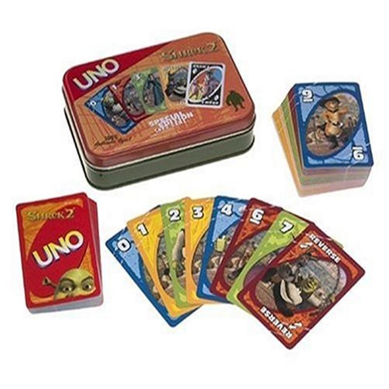 Uno Shrek 2 Special Edition Card Game Walmart Com Walmart Com