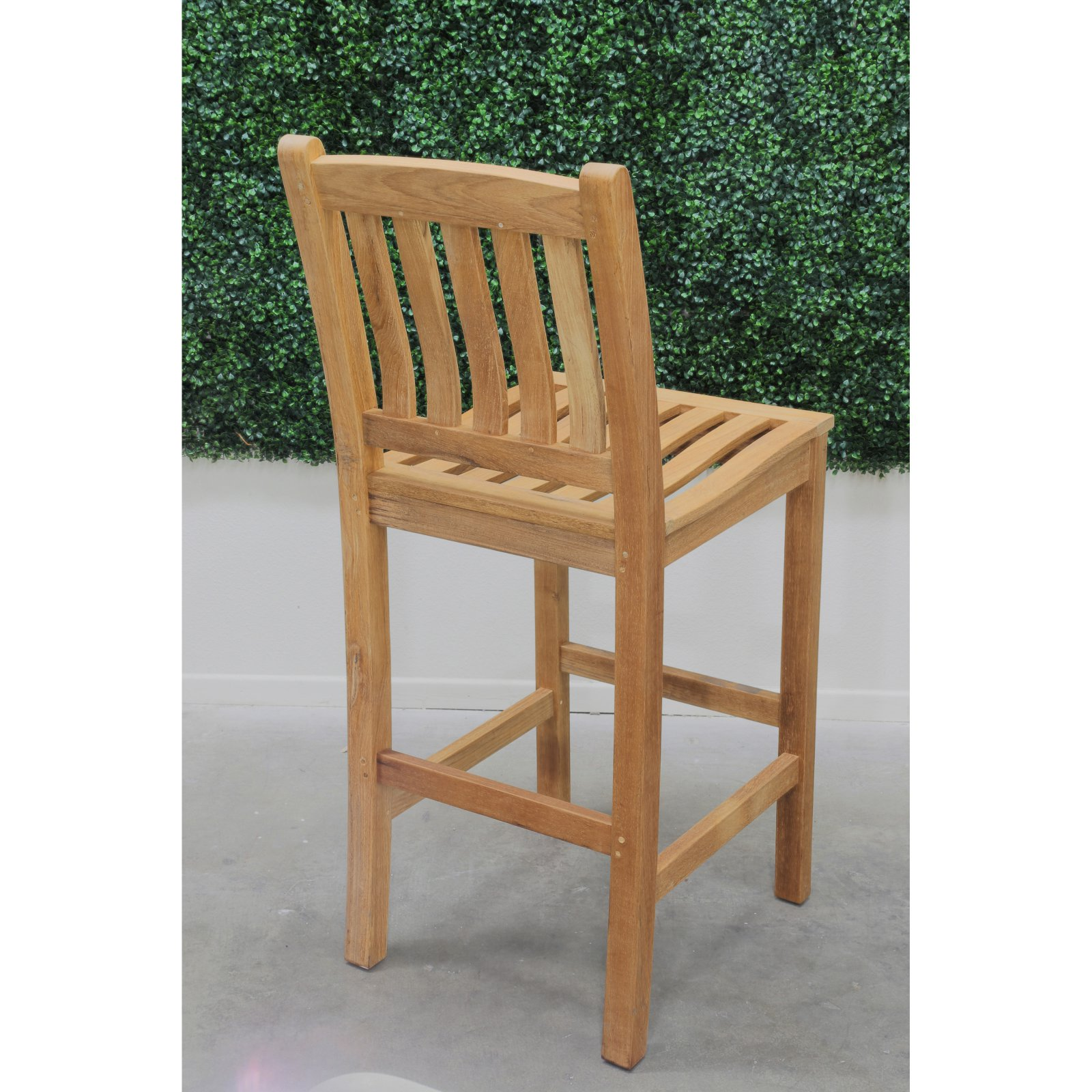 HiTeak Furniture Oasis Patio Bar Height Chair