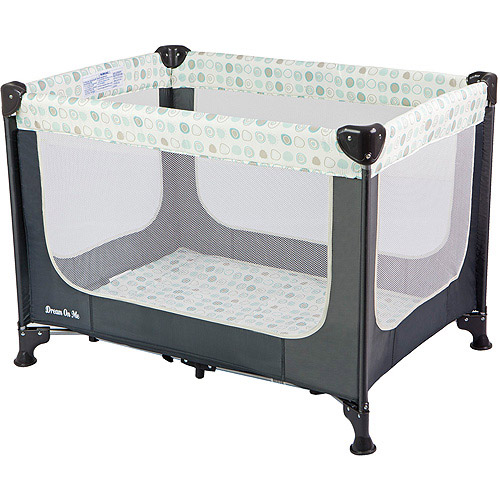 Dream On Me Zodiak Portable Play Yard, Grey
