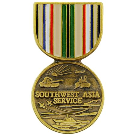 Southwest Asia Campaign Medal Pin