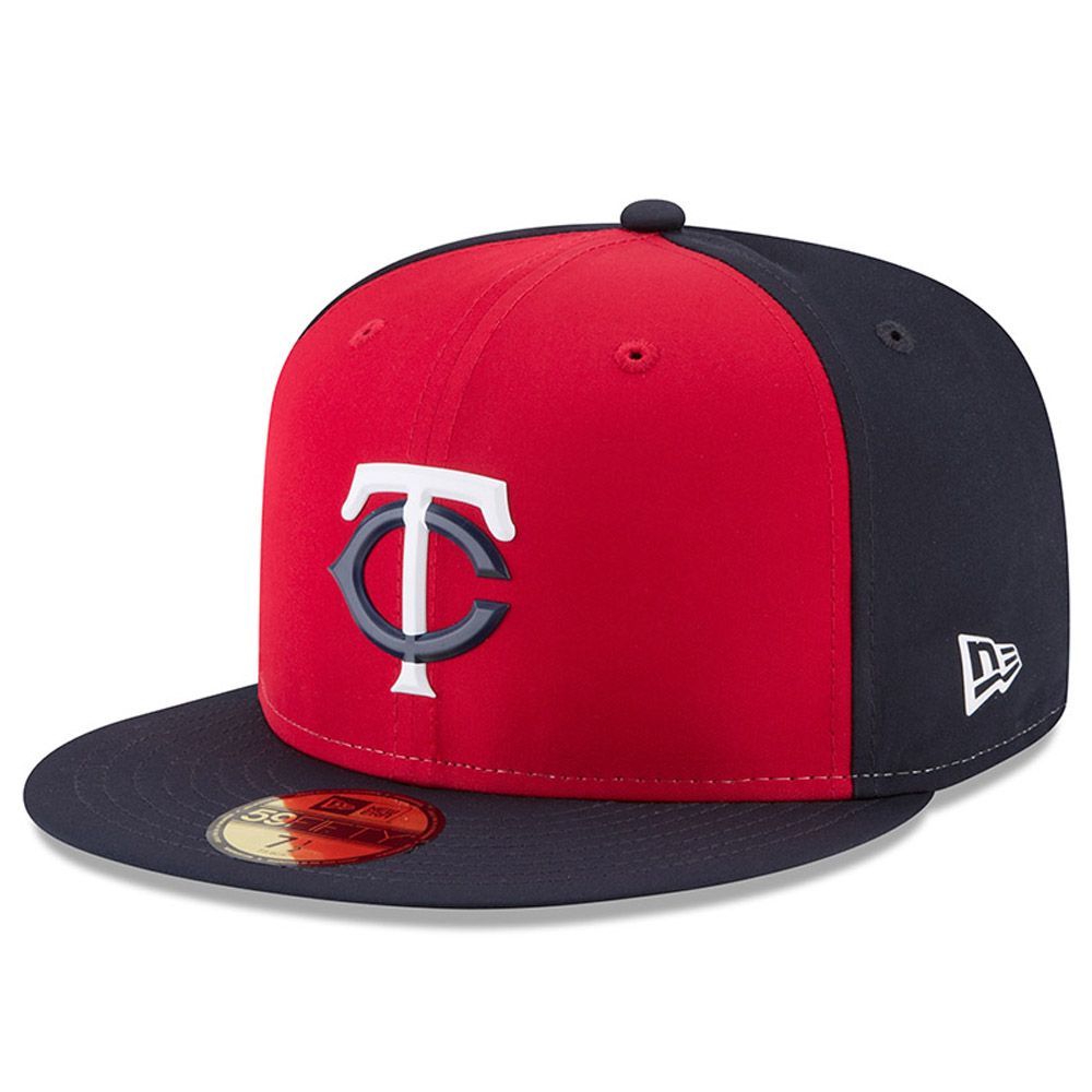 Minnesota Twins New Era 2018 On-Field Prolight Batting Practice 59FIFTY Fitted Hat - Red