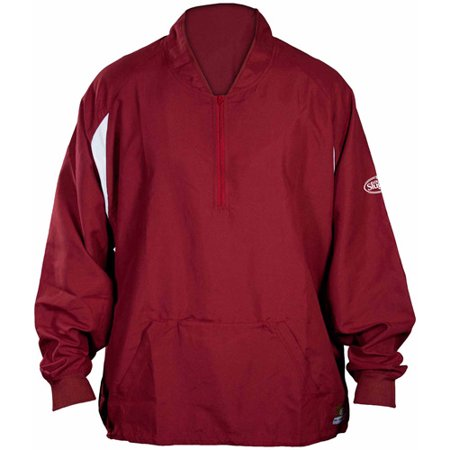 Louisville Slugger Men's Slugger Batting Cage Pull-Over Long Sleeve