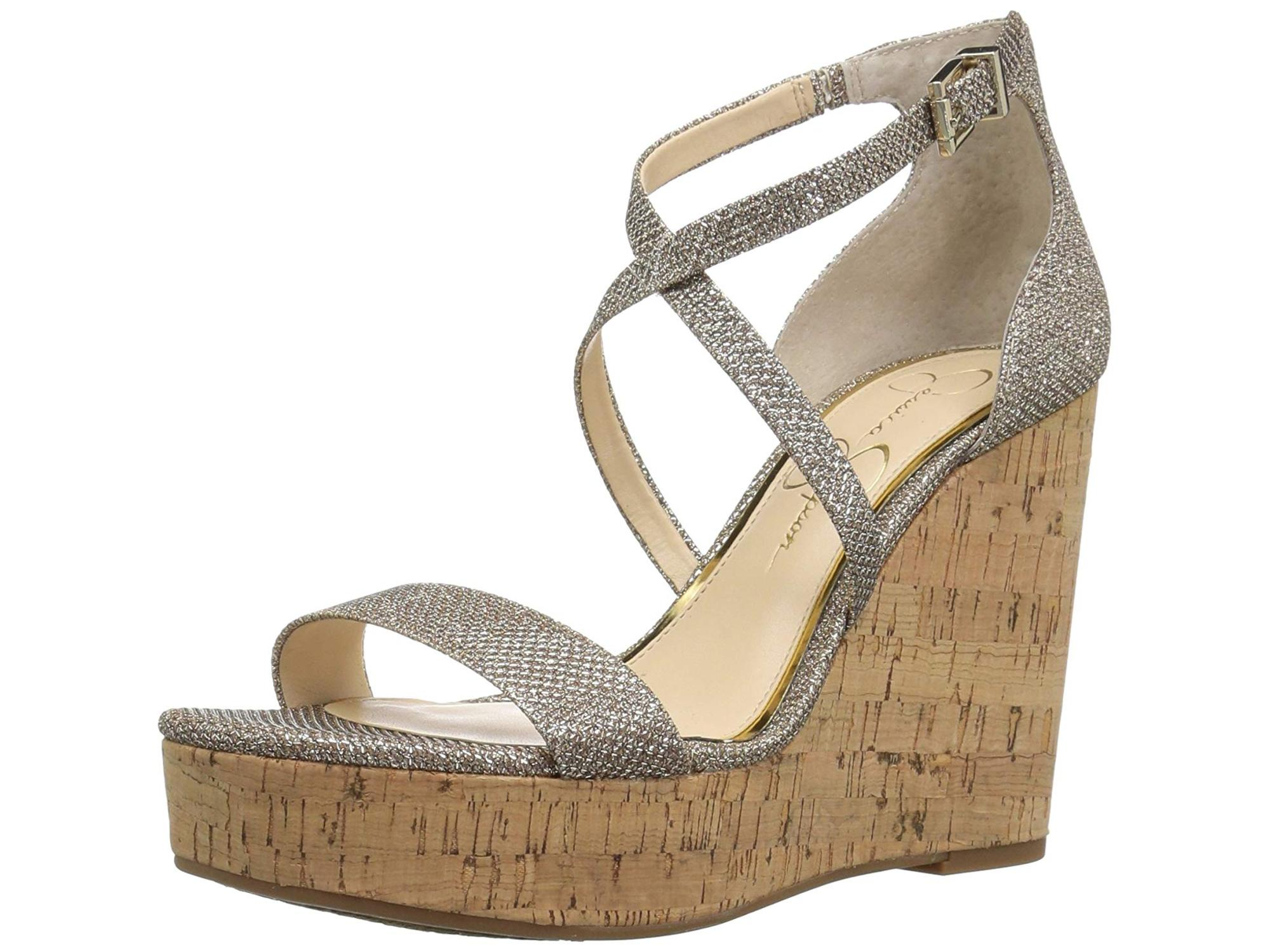 18aeddb502b Jessica Simpson Womens Stassi Open Toe Special Occasion Ankle