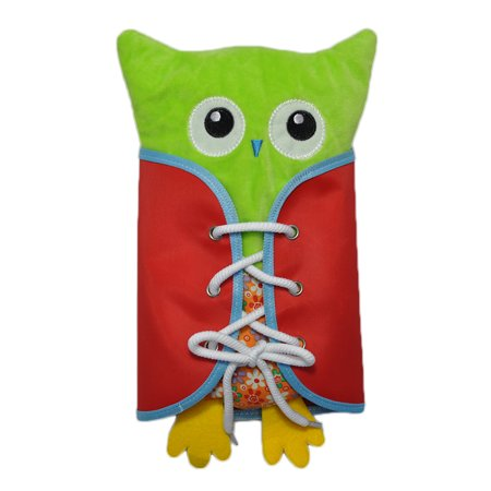 Novel Owl Plush Dress-up Toy Développement Intellectuel Early Educational Kindergarten Teaching Aid Set 4 PCS Per Set - image 5 de 9