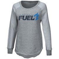 Dallas Fuel G-III 4Her by Carl Banks Women's Raglan Pullover Sweatshirt - Heather Gray