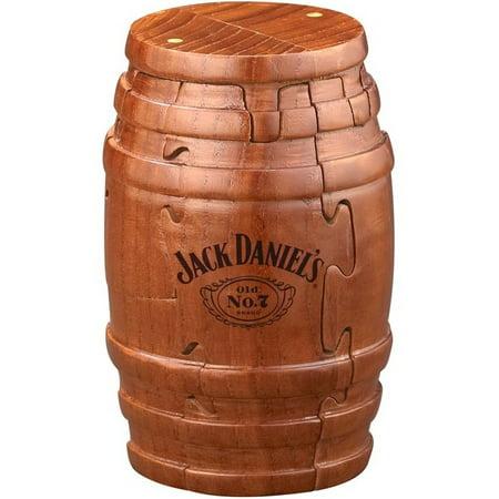 Jack Daniels Wooden Whiskey Barrel Puzzle (Jack Sorenson Puzzles)