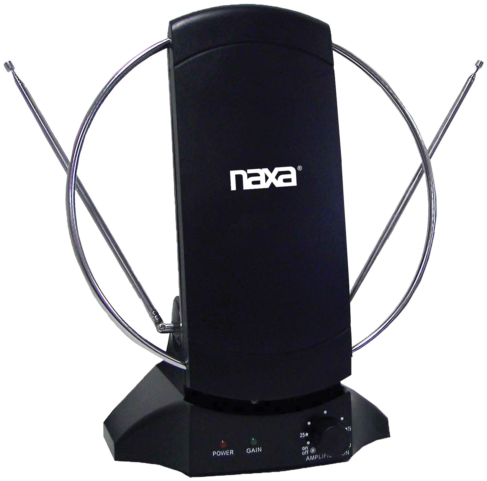 Naxa NAA308 High-Powered Amplified ATSC/HDTV/FM Antenna