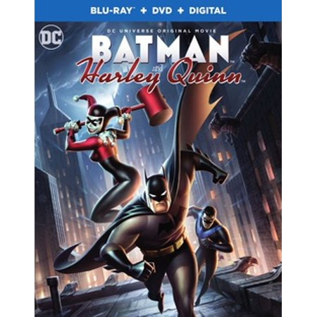 Batman and Harley Quinn (Blu-ray + DVD) (Batman The Animated Series Episodes With Harley Quinn)