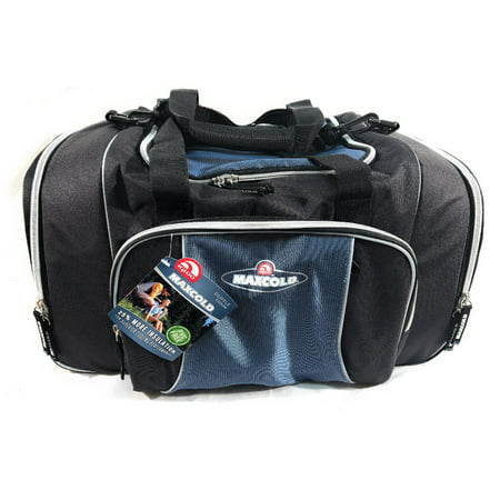 - Igloo Maxcold Duffle Bag and Cooler - Large Center Dry Storage Zone (non insulated) and Insulated 6 Can Side Pockets
