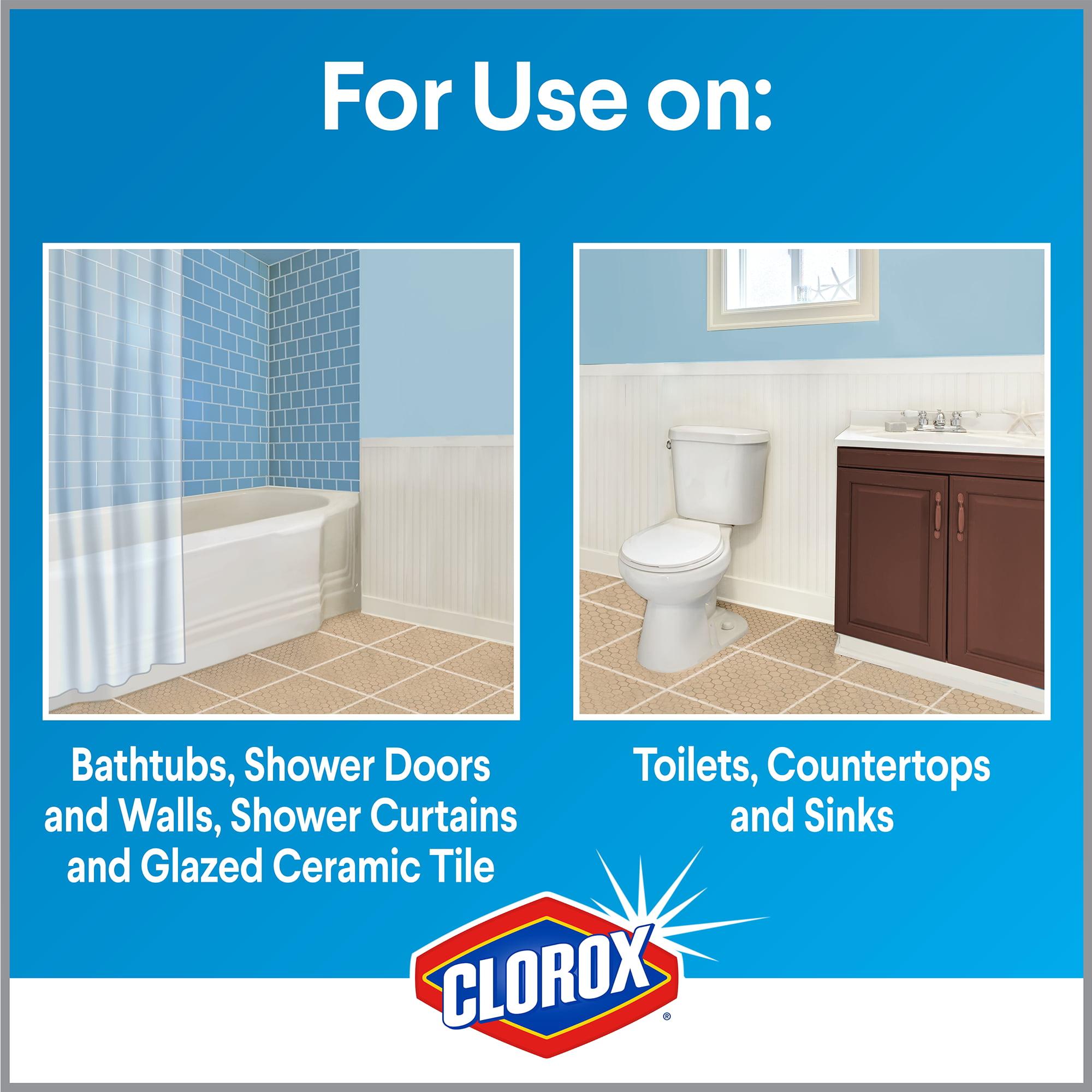 Clorox Plus Tilex Daily Shower Cleaner, Spray Bottle, 32 oz ...