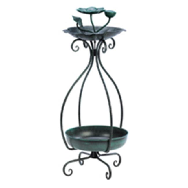 Zingz & Thingz 57071194 Birdfeeder And Plant Stand