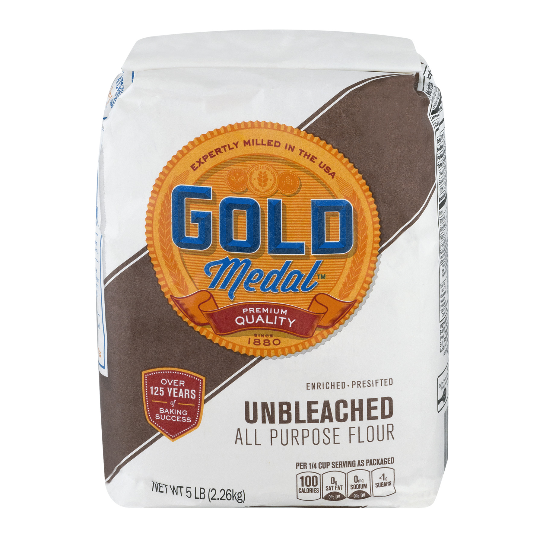Gold Medal® Unbleached All Purpose Flour 5.0 lb Bag