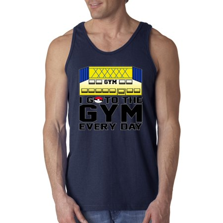 New Way 517 - Men's Tank-Top I Go To The Gym Every Day