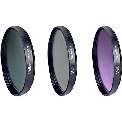 Vivitar FK3-67 Filter Kit - Ultraviolet, Polarizer, Color Correction Filter - 67 mm Attachment