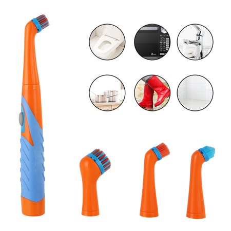 Electric 4 in1 Sonic Scrubber Cleaning Brush Household Cleaner Brush (Electric Scrubber)